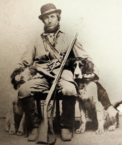 fall turkey hunting with dogs in the 1870s