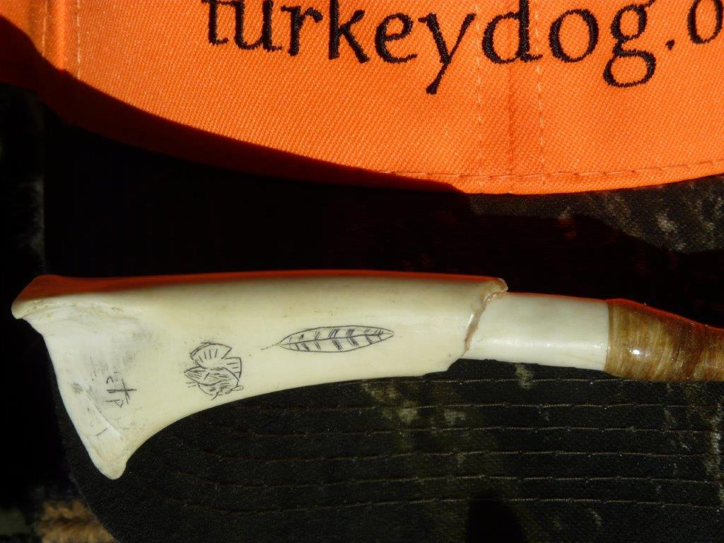 Kentucky artist Colt Peel makes wild turkey calls