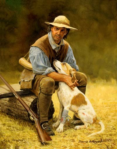 No Stronger Bond then a man and his dog by David Wright