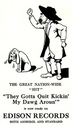 Ya Gotta Quit Kicking My Dog Around by Gid Tanner & His Skillet Lickers