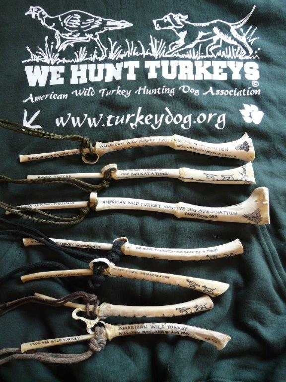 Virginia wild turkey wingbone calls