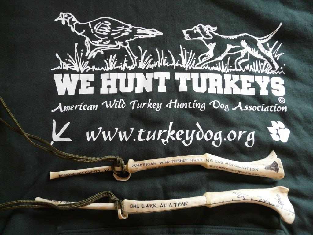American Wild Turkey Hunting Dog Association Wingbone Calls