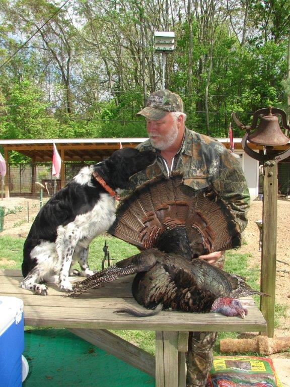 Buster busts the turkeys