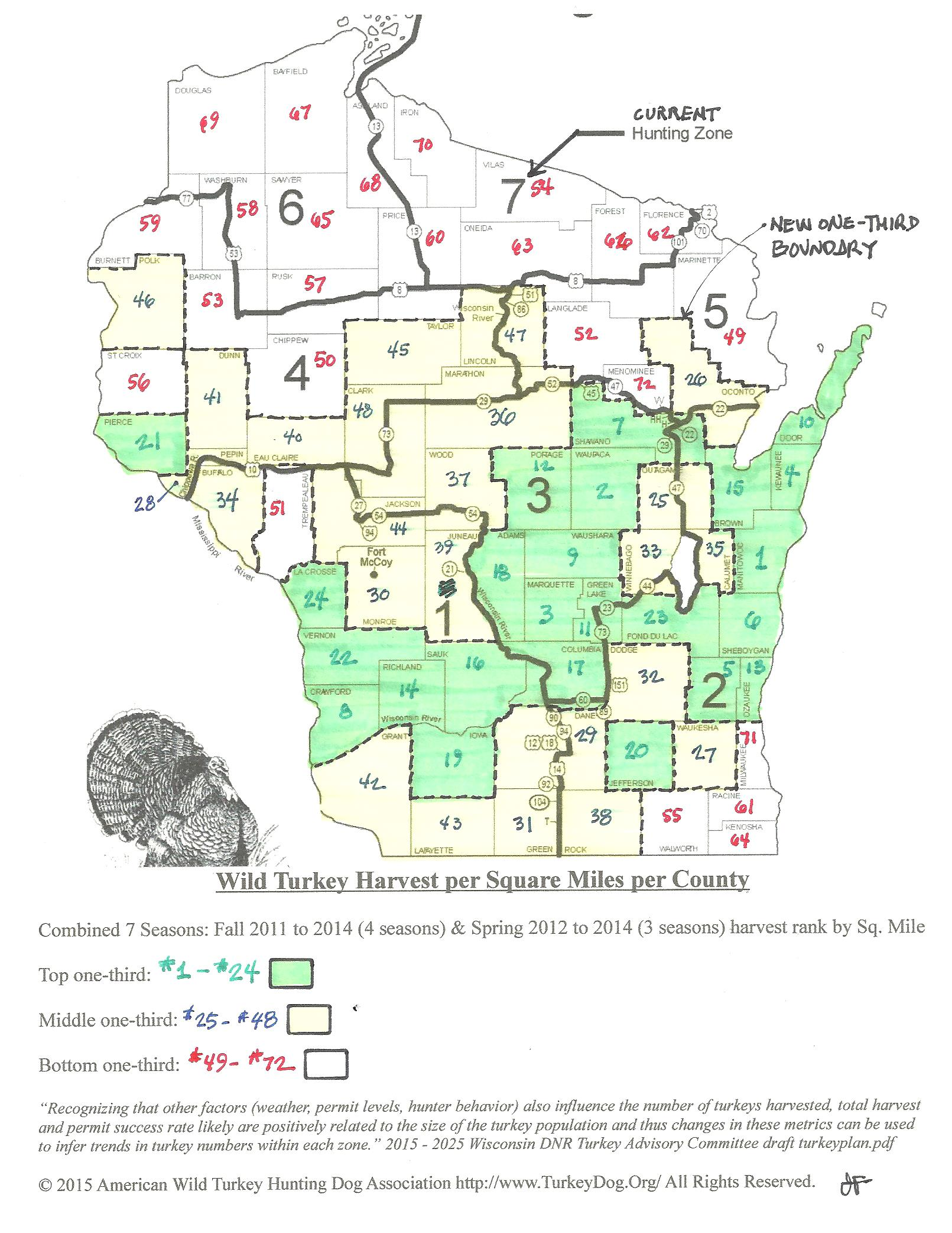 Spring fall wild turkey hunting with a dog rules for Wisconsin out of state fishing license