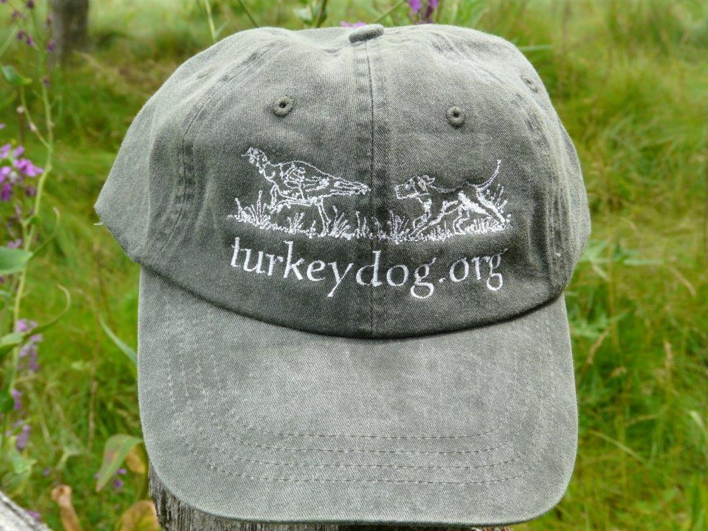 hunter green bird dog cap