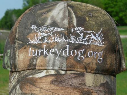 official turkey dog cap with awthda logo