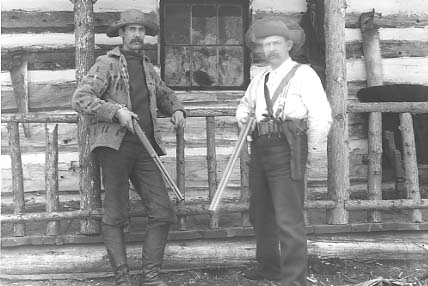 Two old time shotgun hunters